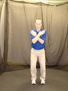 Fitgolf Golf Fitness Handicap - Test de rotation pelvienne.
